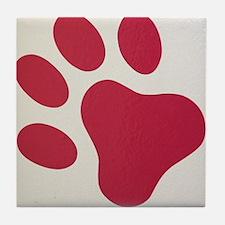 Puppy Paw Tile Coaster