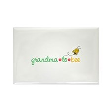 Grandma to bee Rectangle Magnet (10 pack)