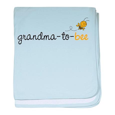 Grandma to bee baby blanket