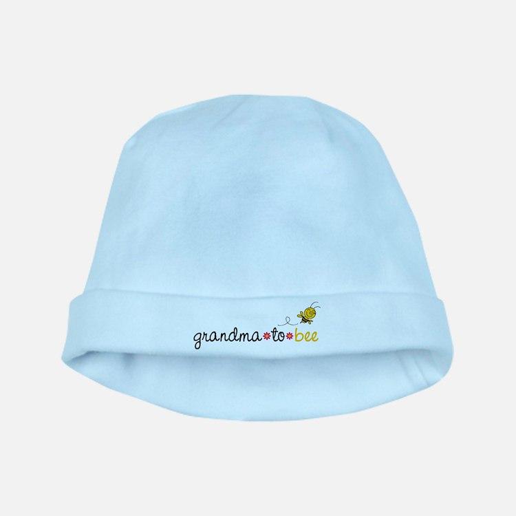 Grandma to bee baby hat