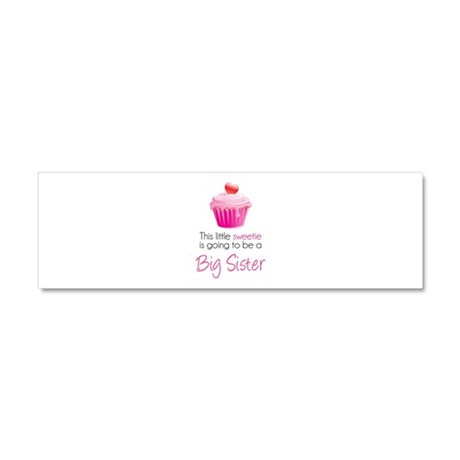 This little sweetie Car Magnet 10 x 3