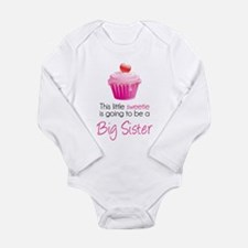 This little sweetie Long Sleeve Infant Bodysuit