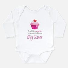 This little sweetie Long Sleeve Infant Bodysuit