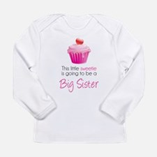 This little sweetie Long Sleeve Infant T-Shirt