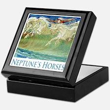 Neptune's Horses Keepsake Box