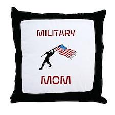 Military MOM Throw Pillow