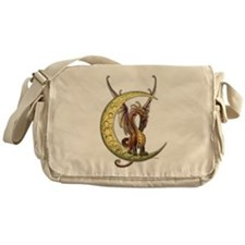 Moon Dragon Messenger Bag