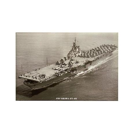 USS TARAWA Rectangle Magnet