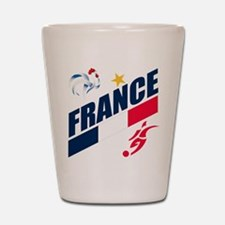 France World Cup Soccer Shot Glass
