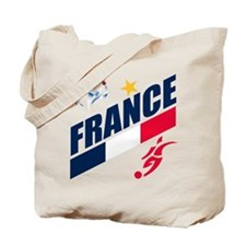 France World Cup Soccer Tote Bag