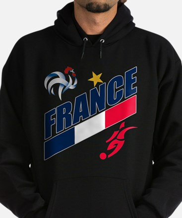 France World Cup Soccer Hoodie (dark)