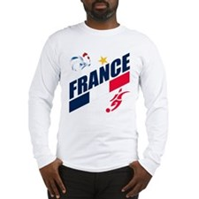 France World Cup Soccer Long Sleeve T-Shirt