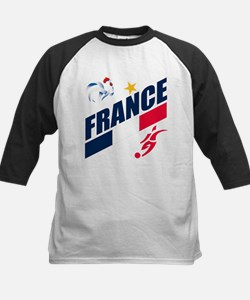 France World Cup Soccer Kids Baseball Jersey