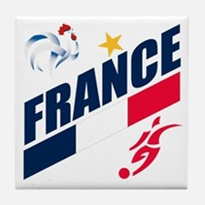France World Cup Soccer Tile Coaster