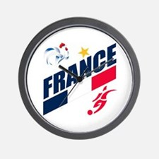 France World Cup Soccer Wall Clock