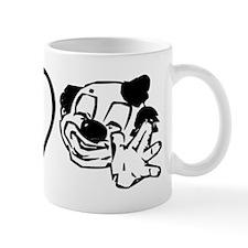 Peace Love & Clowns Mug