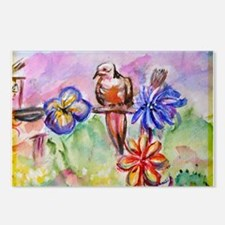 Dove! Desert! Southwest art! Postcards (Package of