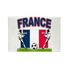 France World Cup Soccer Rectangle Magnet