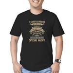 Monogram - Cooper Organic Men's Fitted T-Shirt