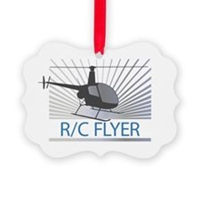 Radio Control Flyer Helicopter Ornament