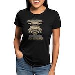 Monogram - Couper of Gogar Women's Fitted T-Shirt