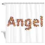 Angel Fiesta Shower Curtain