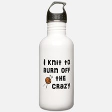 Crazy Knit Water Bottle