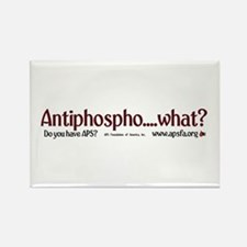 Antiphospho.....What?!?! Rectangle Magnet