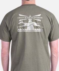 Beacon of Hope for Greyhounds T-Shirt