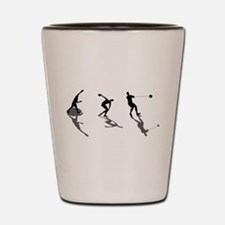Athletics Field Events Shot Glass