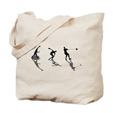 Athletics Field Events Tote Bag