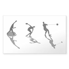 Athletics Field Events Decal