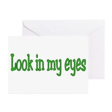 Funny One eye Greeting Cards (Pk of 20)