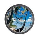 Anytime is Nap Time Wall Clock