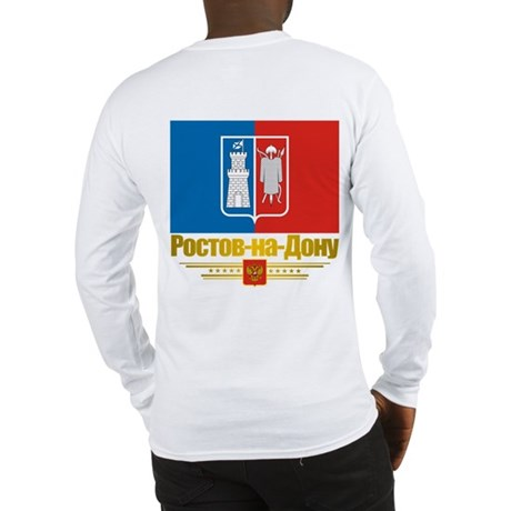 Rostov-on-Don Flag Long Sleeve T-Shirt