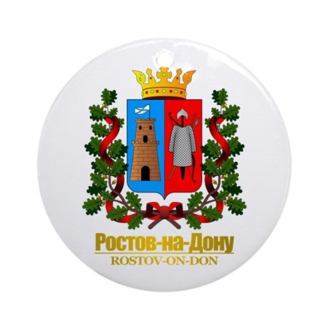 Rostov-on-Don COA Ornament (Round)