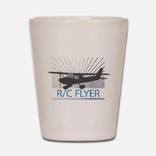 RC Flyer Hign Wing Airplane Shot Glass