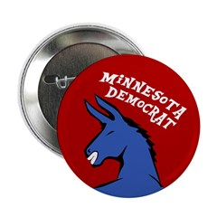 Minnesota Democrat Political Button