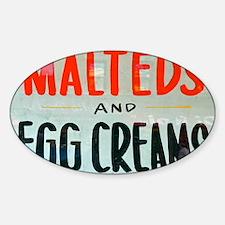 NYC: Malteds and Egg Creams Decal
