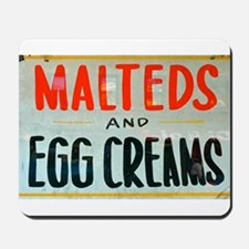 NYC: Malteds and Egg Creams Mousepad