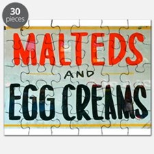 NYC: Malteds and Egg Creams Puzzle