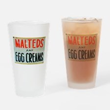 NYC: Malteds and Egg Creams Drinking Glass