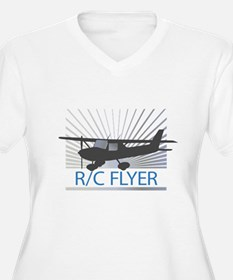 RC Flyer Hign Wing Airplane T-Shirt