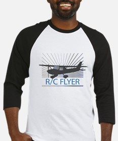 RC Flyer Hign Wing Airplane Baseball Jersey
