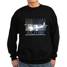 RC Flyer Hign Wing Airplane Sweatshirt
