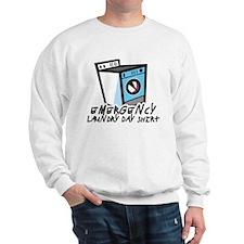 Emergency Laundry Day Shirt Sweatshirt