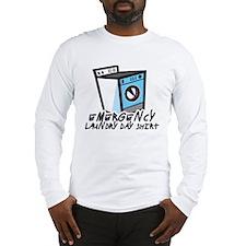 Emergency Laundry Day Shirt Long Sleeve T-Shirt