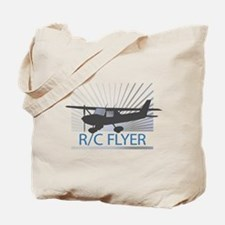 RC Flyer Hign Wing Airplane Tote Bag