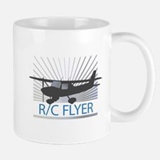 RC Flyer Hign Wing Airplane Mug