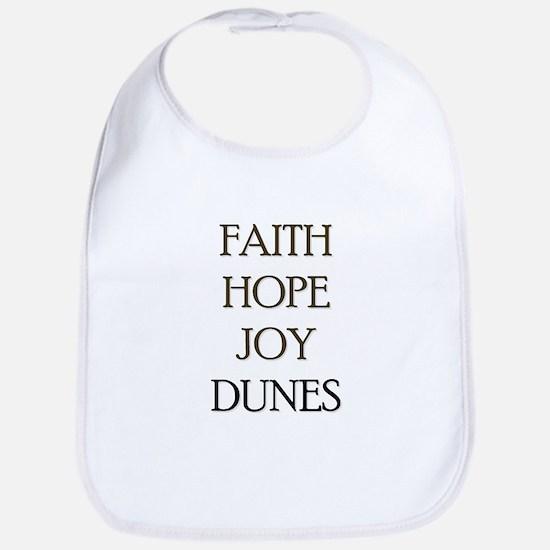 FAITH HOPE JOY DUNES Bib